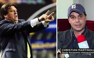 Miguel Herrera tambalea por pegarle a Christian Martinoli