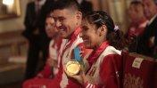 Medallistas de Toronto 2015 condecorados en Palacio (FOTOS)