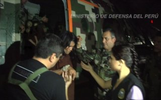 Así llegaron rescatados de Sendero Luminoso a Mazamari [VIDEO]