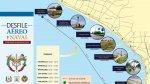 Estas son las ubicaciones para ver hoy el desfile aéreo y naval - Noticias de gustavo bell