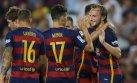 Rakitic marcó golazo de fuera del área para Barcelona (VIDEO)