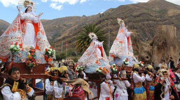 Festividad de Virgen Asunta fue declarada Patrimonio Cultural