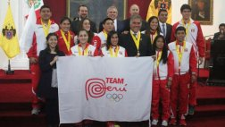 Municipalidad de Lima homenajeó a medallistas de Toronto 2015