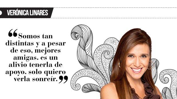 """Verónica Linares: """"Una hermana como la mía"""""""
