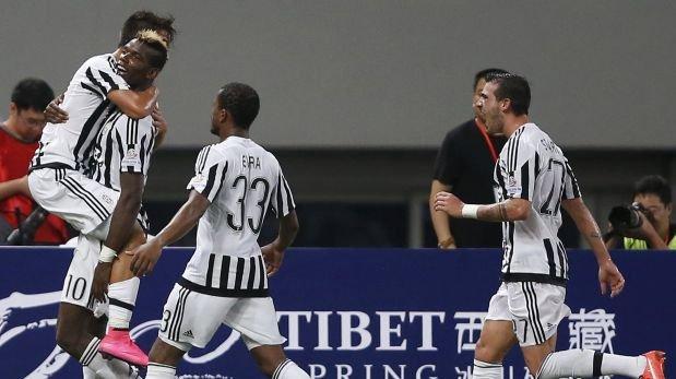 Juventus venció 2-0 a la Lazio y ganó la Supercopa italiana