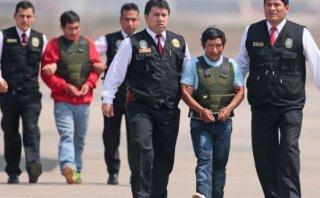 Mandos de Sendero capturados en Vraem fueron trasladados a Lima
