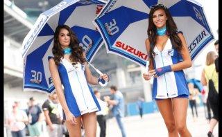 MotoGP: Las bellas Paddock Girls del GP de Indianápolis