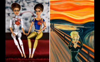 Artista recrea pinturas famosas con muñecas Barbie [GALERÍA]