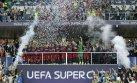 Barcelona: el júbilo azulgrana tras ganar Supercopa de Europa