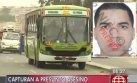 Cae presunto asesino de policía que quiso impedir asalto a bus