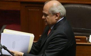 DINI: comisión reorganizadora entregó informe a Pedro Cateriano