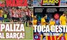 Barcelona: así calificó prensa española la derrota ante Bilbao