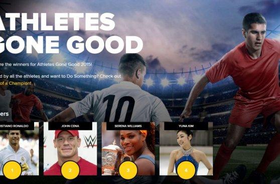 Cristiano encabeza lista de deportistas que más ayuda brindan