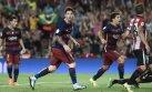 Barcelona: golazo de Messi tras pase de pecho de Suárez (VIDEO)