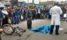 SJM: ciclista murió atropellado por bus en avenida Pachacútec