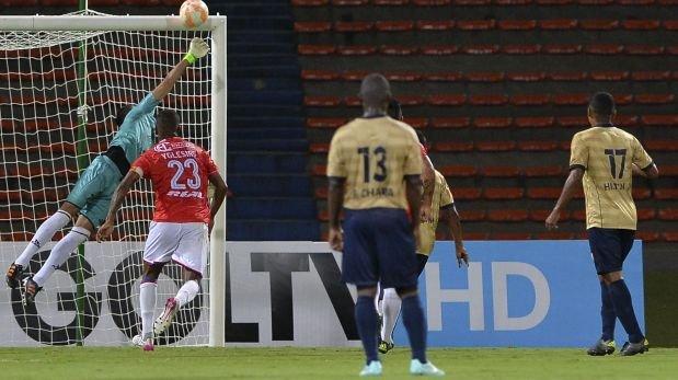Unión Comercio empató 1-1 con Águilas Doradas por Sudamericana