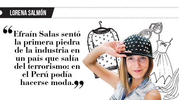"Lorena Salmón: ""Desde 1990"""
