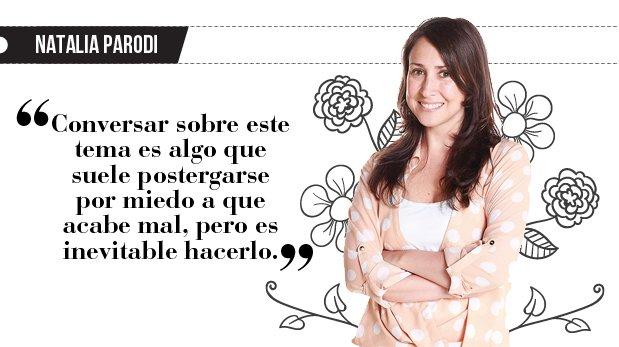 "Natalia Parodi: ""Mi pareja no quiere hijos"""