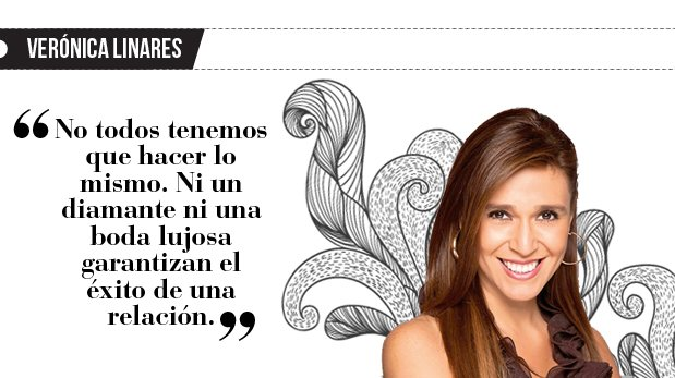 """Verónica Linares: """"¿Y tu anillo tía?"""""""