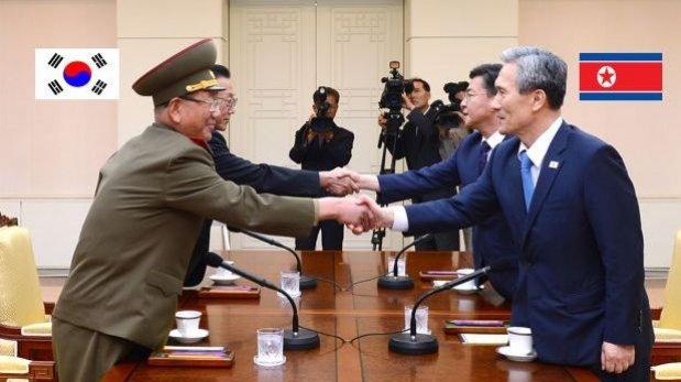 Los Gobiernos de las dos Coreas se reúnen para calmar tensiones