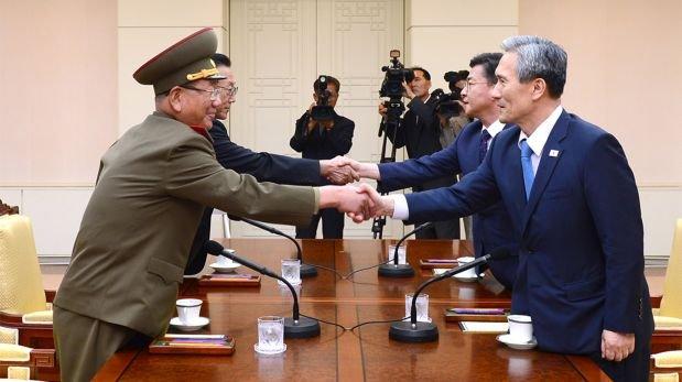 Corea del Sur logra acuerdo con Corea del Norte tras tensiones