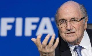 """Blatter: """"No hay corrupción en el fútbol. Estoy limpio"""""""