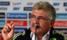 Ferretti, técnico de México: