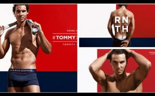 Rafael Nadal al 'desnudo' en anuncio de Tommy Hilfiger (VIDEO)