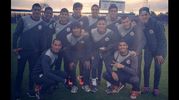 Universitario entrenó en Montevideo para Copa Sudamericana