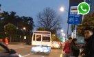 WhatsApp: coasters siguen circulando por corredor azul