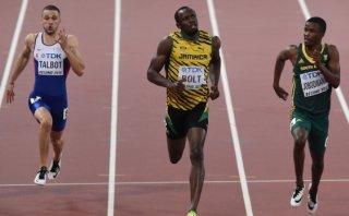 Usain Bolt avanza a la final de 200m, donde lo esperará Gatlin