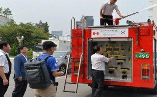 Chanchamayo contará con nuevos vehículos para los bomberos