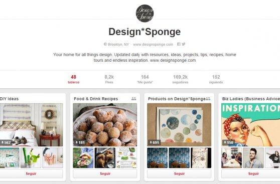 Cinco cuentas de Pinterest para inspirarte al decorar