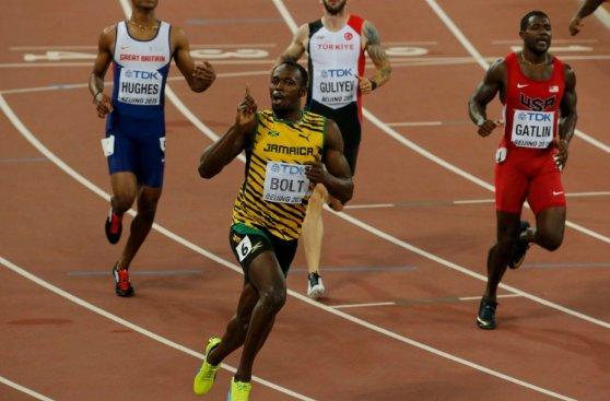 El rey de la velocidad: el triunfo y festejo de Bolt en fotos