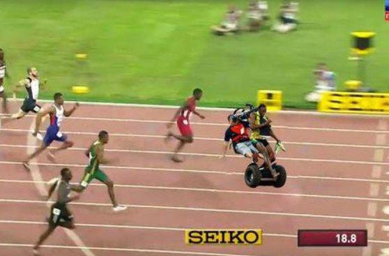 Los memes del atropello a Usain Bolt en el Mundial de Atletismo