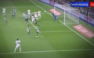Real Madrid: James Rodríguez marcó formidable gol de tiro libre