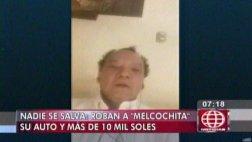 Melcochita dio detalles del violento robo que sufrió en Lince