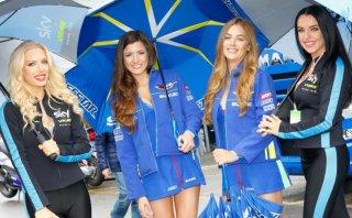 MotoGP: Las bellas anfitrionas presentes en Silverstone