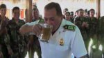 Policías del Vraem celebraron ascensos con 'bautizo' de alcohol - Noticias de carlos morán
