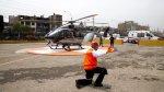 El simulacro aeromédico por el fenómeno de El Niño [FOTOS] - Noticias de hospital nacional cayetano heredia