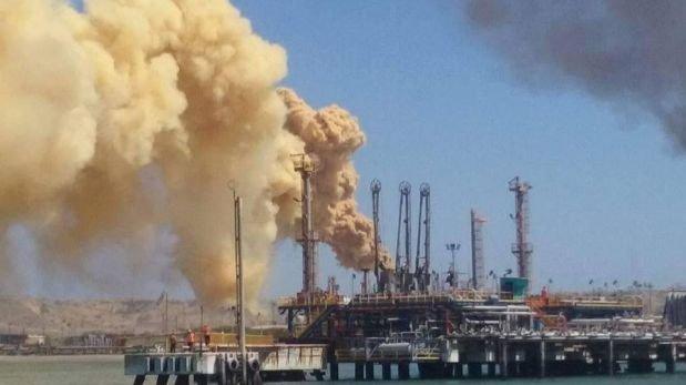 Humareda en refinería de Talara alarmó a la población
