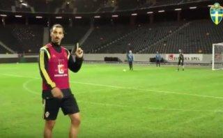 Zlatan Ibrahimovic: mira el golazo que solo él puede marcar