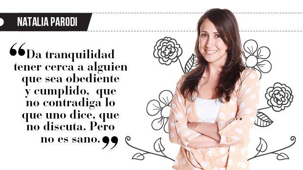 """Natalia Parodi: """"Moldearte a mi antojo"""""""