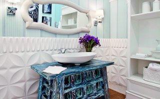 Convierte un mueble en desuso en la pieza estrella del baño