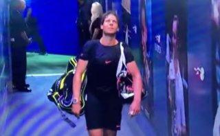 Nadal abatido: así se despidió tras ser eliminado del US Open
