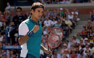 Roger Federer avanzó a octavos de final del US Open