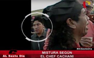 Mistura: hombre sufrió intento de robo en plena entrevista