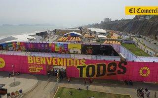 Mistura 2015: así se ve la feria desde un dron [VIDEO]