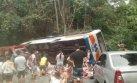 Brasil: al menos 14 muertos y 40 heridos en accidente de bus