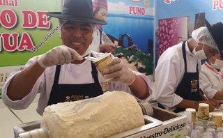Helado de quinua: un dulce antojo puneño en Mistura